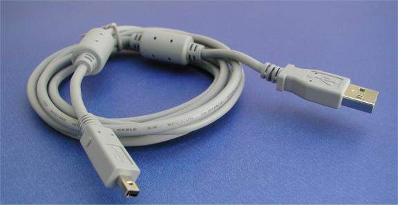 CASIO USB Camera Cable 4-Pin D3-LONG 6FT