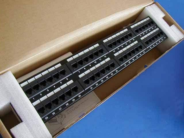 CAT5E PATCH PANELS 48 PORT