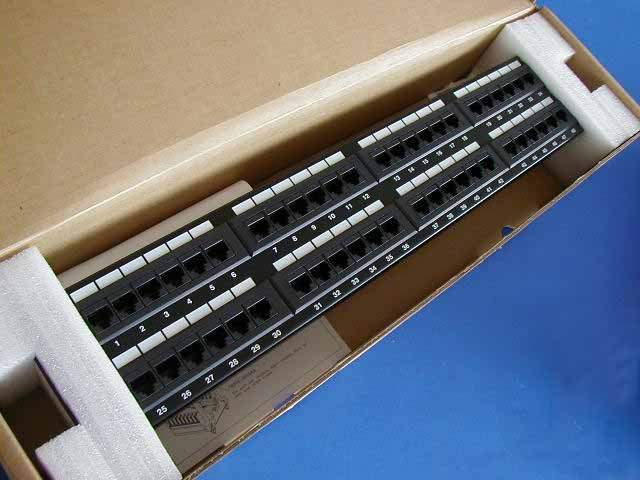 CAT5E PATCH PanelS 48 PORT
