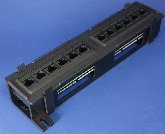 CAT6 PATCH PANELS 12 PORT