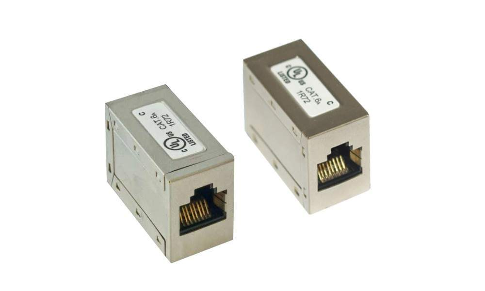 CAT6a Shielded Inline Coupler
