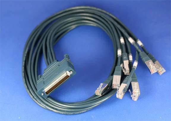 Cisco 8 Lead Octal Cable DB68 3ft CAB-OCTAL-ASYNC