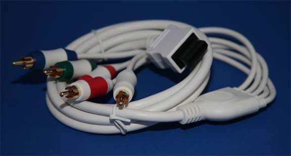 Component HD AV Cable to HDTV-EDTV Nintendo Wii and Wii U