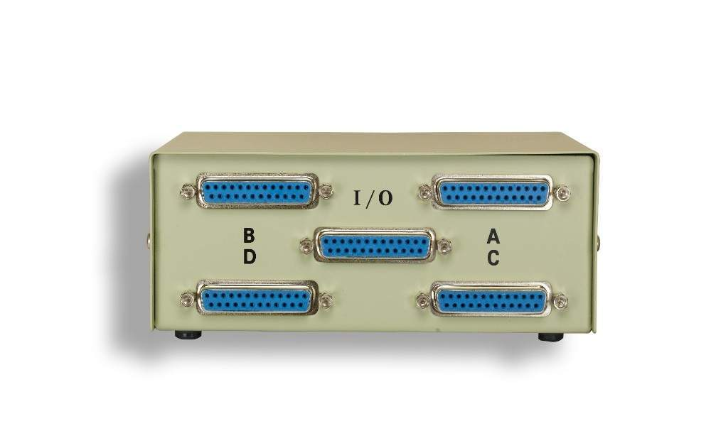 DB25 ABCD 4 Way Switch Box