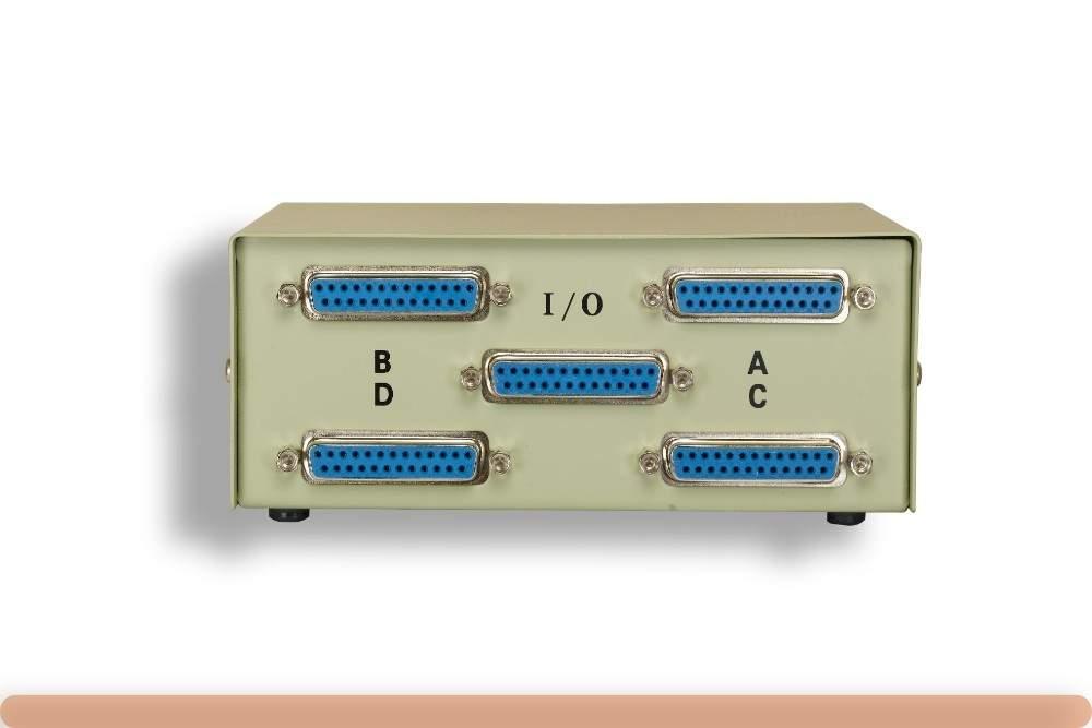 DB25 ABCD Switch Box