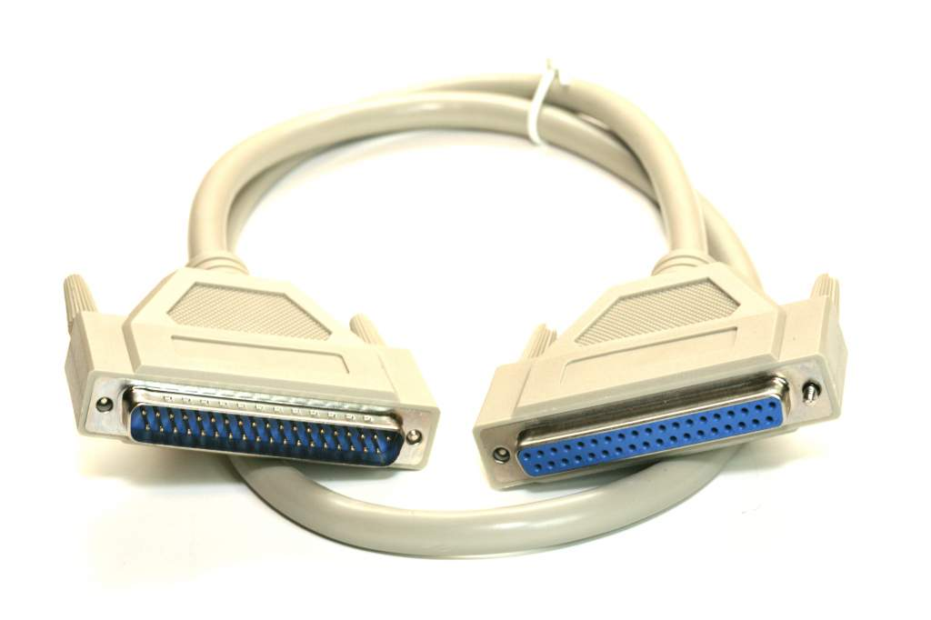 DB37-M to DB37-F 3FT Cable