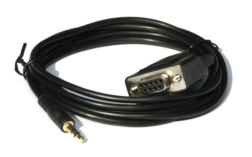 DB9 Female to 3.5mm TRS Serial Cable 6 Feet