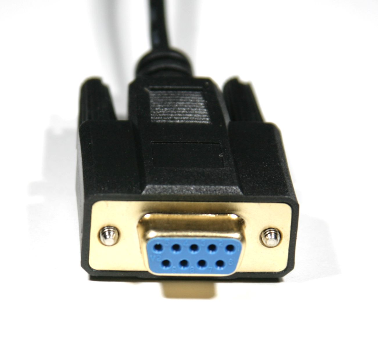 DB9 Female Connector Gold Plated