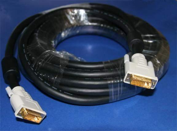 DIGITAL 1600 DVI-D to DVI-D PREMIUM DVI CABLE 10M 30FT 24AWG 24-GAUGE