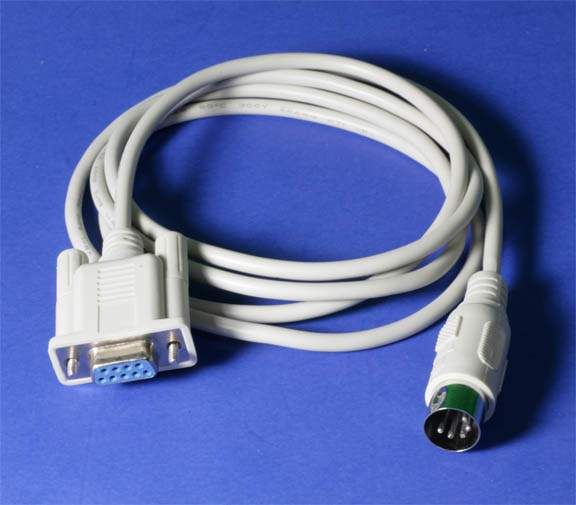 DIN5M to DB9F Cable 3Ft Scale Interface