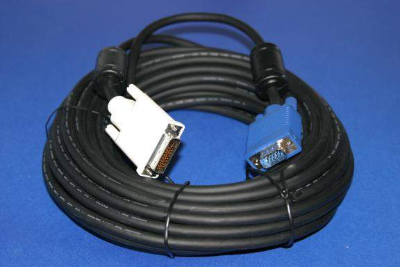 DVI-A to SVGA Cable 15M 50FT Analog