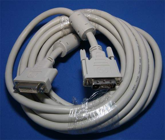 DVI Extension Cable DVI-D-M to DVI-D-F 5M