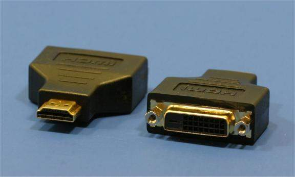 DVI to HDMI ADAPTER CERTIFIED Female-Male