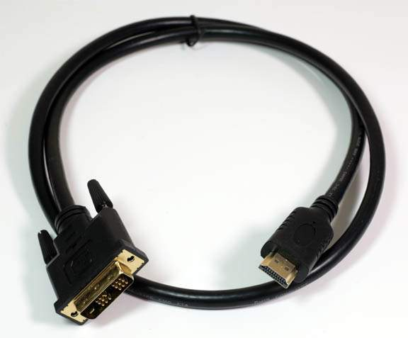 DVI HDMI CABLE 1M 3FT