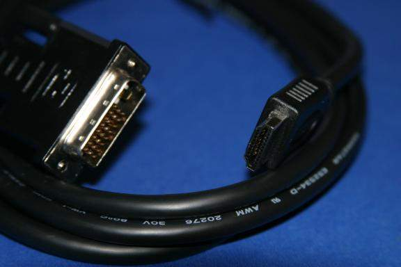 DVI HDMI CABLE 5M 15FT