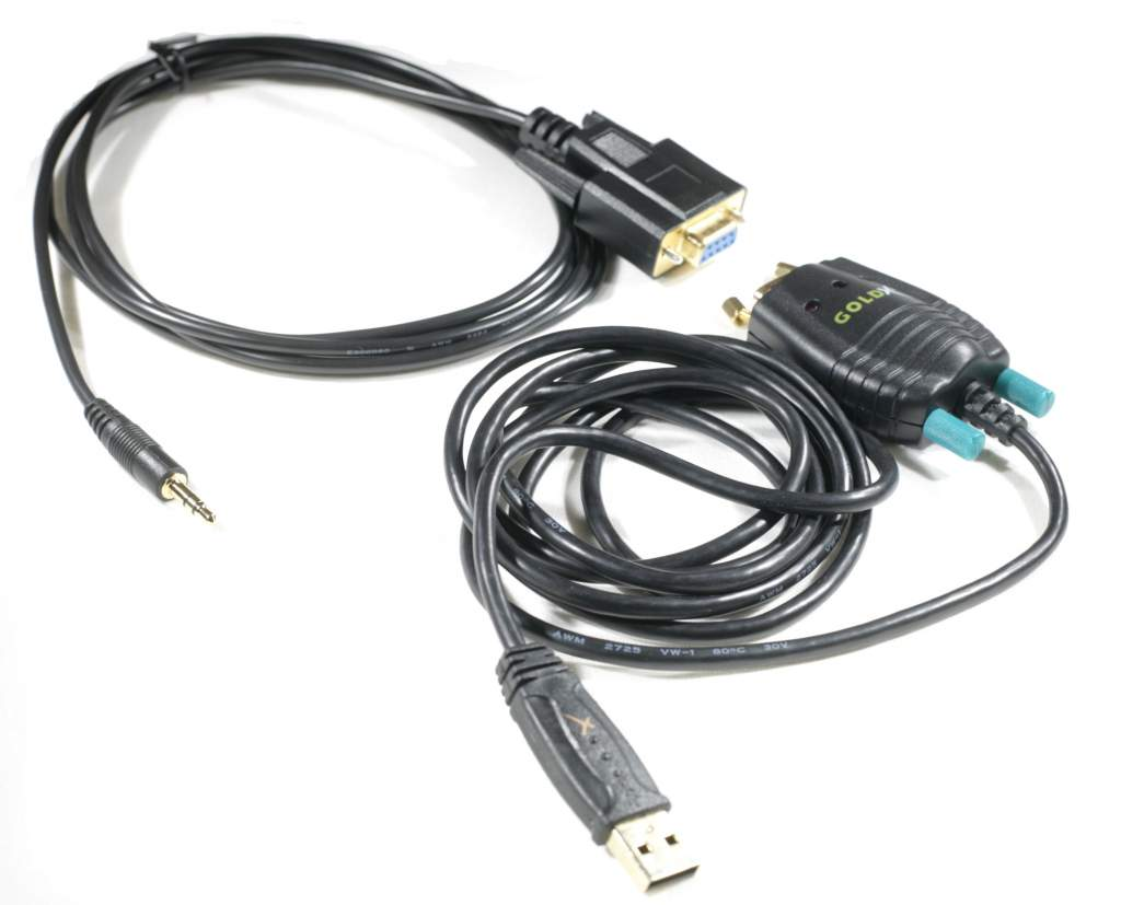 EXLINK Samsung Cable Kit USB and Serial Cable DB9-F to 3.5mm Prolific Chipset