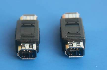 FIREWIRE ADAPTER 6PIN-F 6PIN-F COUPLER