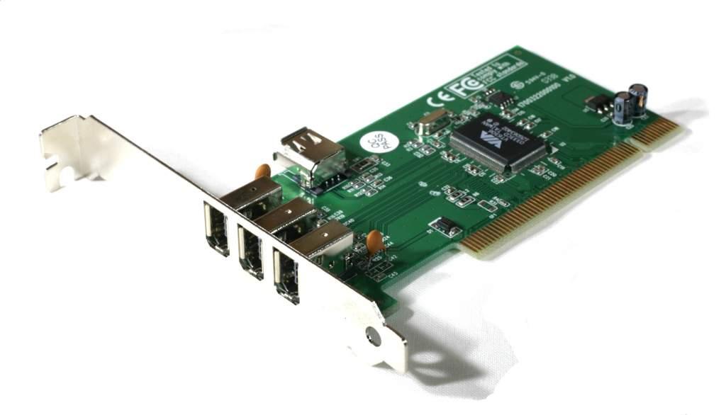 Firewire CARD VIA CHIPSET 1394A PCI