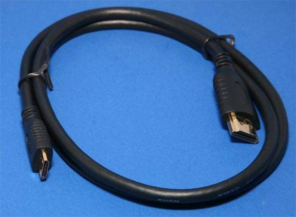 HDMI A to HDMI 1.4 Type-C Premium Cable 2M 6FT Certified