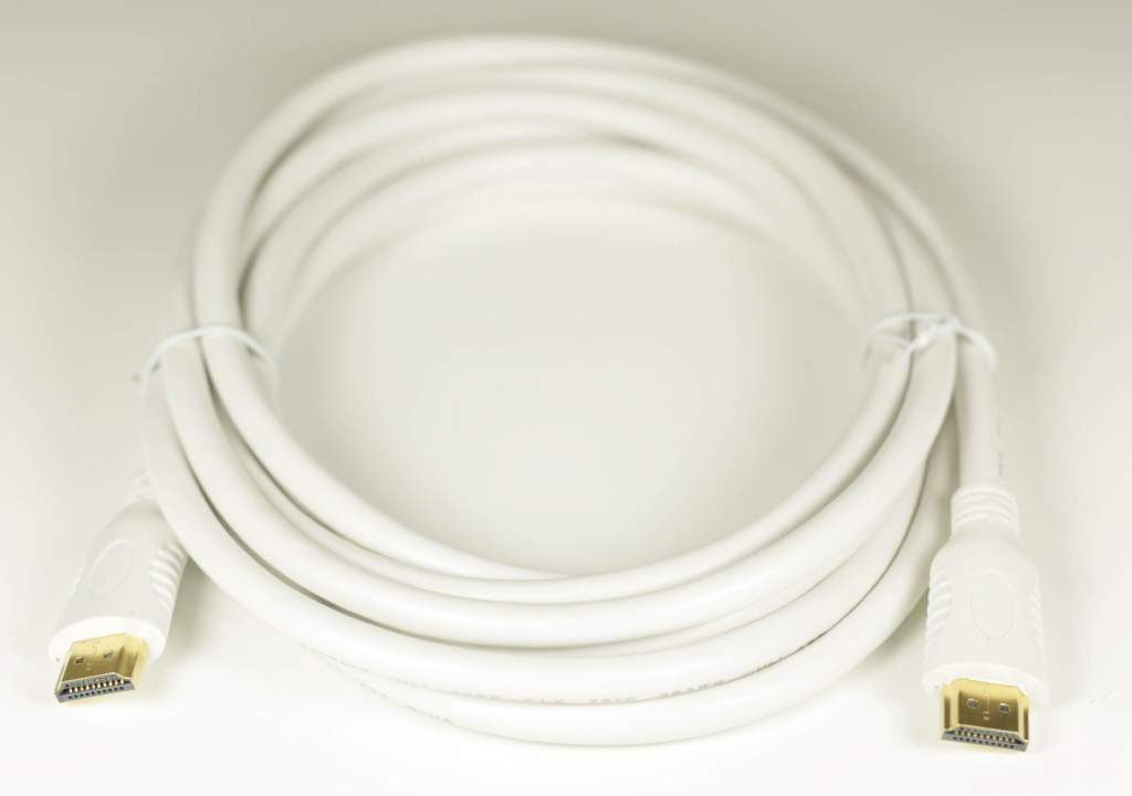 HDMI Cable White 10FT HEC Certified