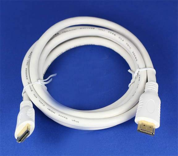 HDMI Cable White 6FT HEC Certified