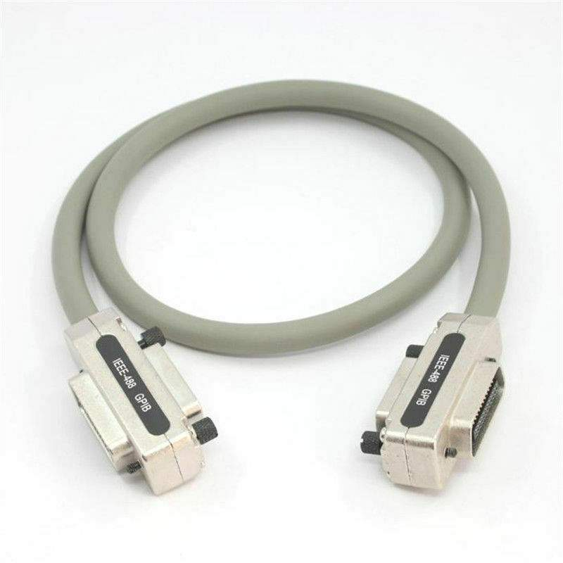 IEEE-488 GPIB HPIB CN24 Male to Female Metal Connector Extension Cable