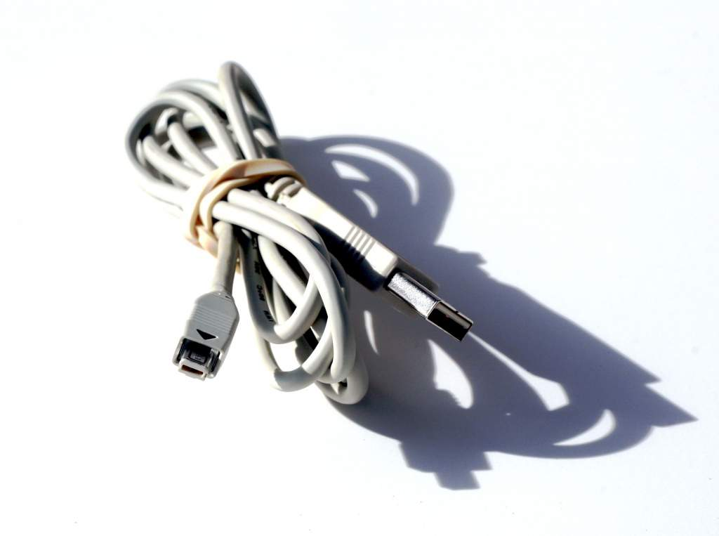 IRIVER iFP USB MP3 Cable TYPE A to B 8-Rect D9S