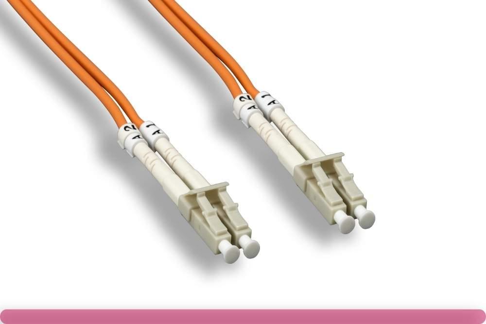LC-LC FIBER OPTIC 3Meter 62.5 125UM Duplex Multimode