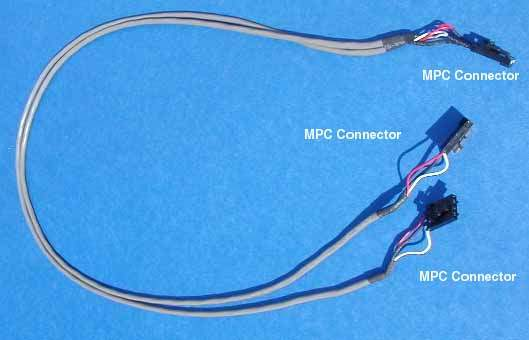 MPC2 to 2-MPC2 Splitter CDROM DVD Cable