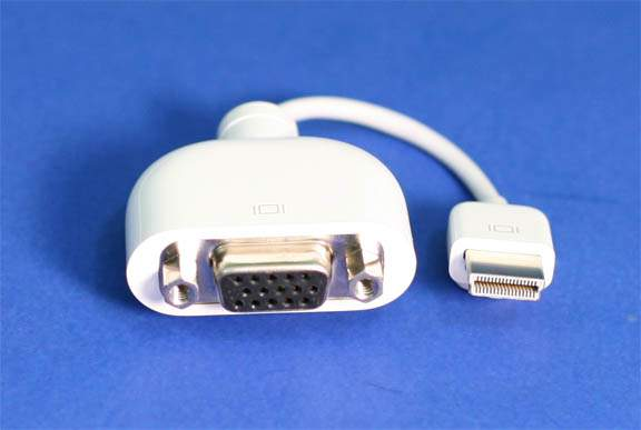 Micro-DVI to VGA Adapter