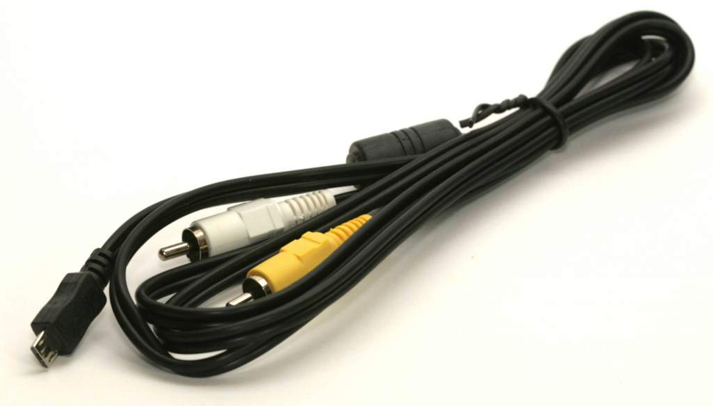 MicroB to Dual RCA Cable 6ft Audio Video