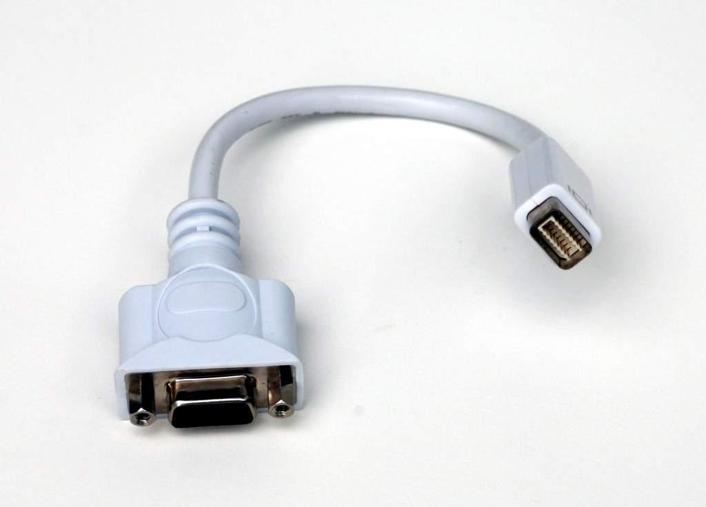 Mini-DVI to VGA Adapter MDVI-Male VGA-Female HDDB15F