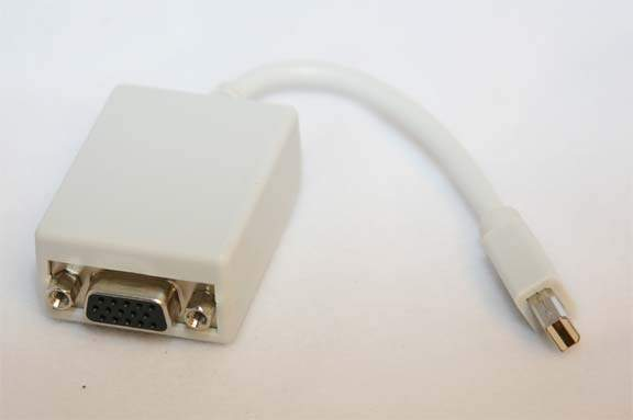 Mini-DisplayPort to VGA Adapter
