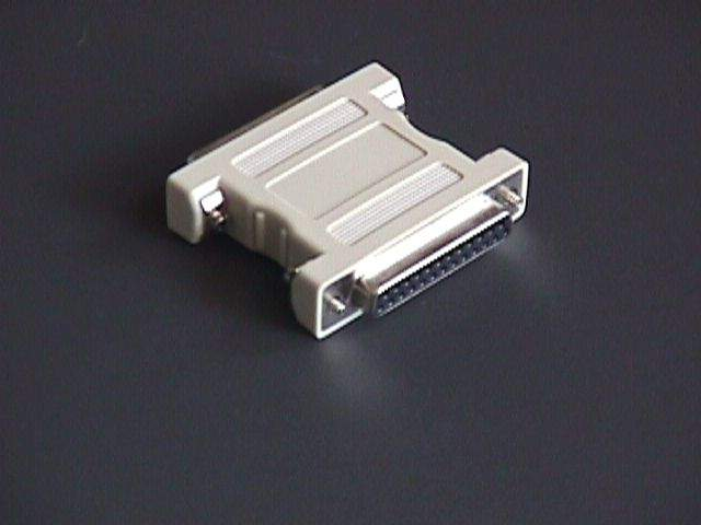 Null Modem Adapter DB25 F-F