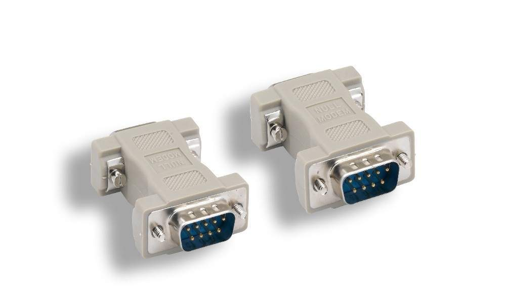 Null Modem Adapter DB9M to DB9M