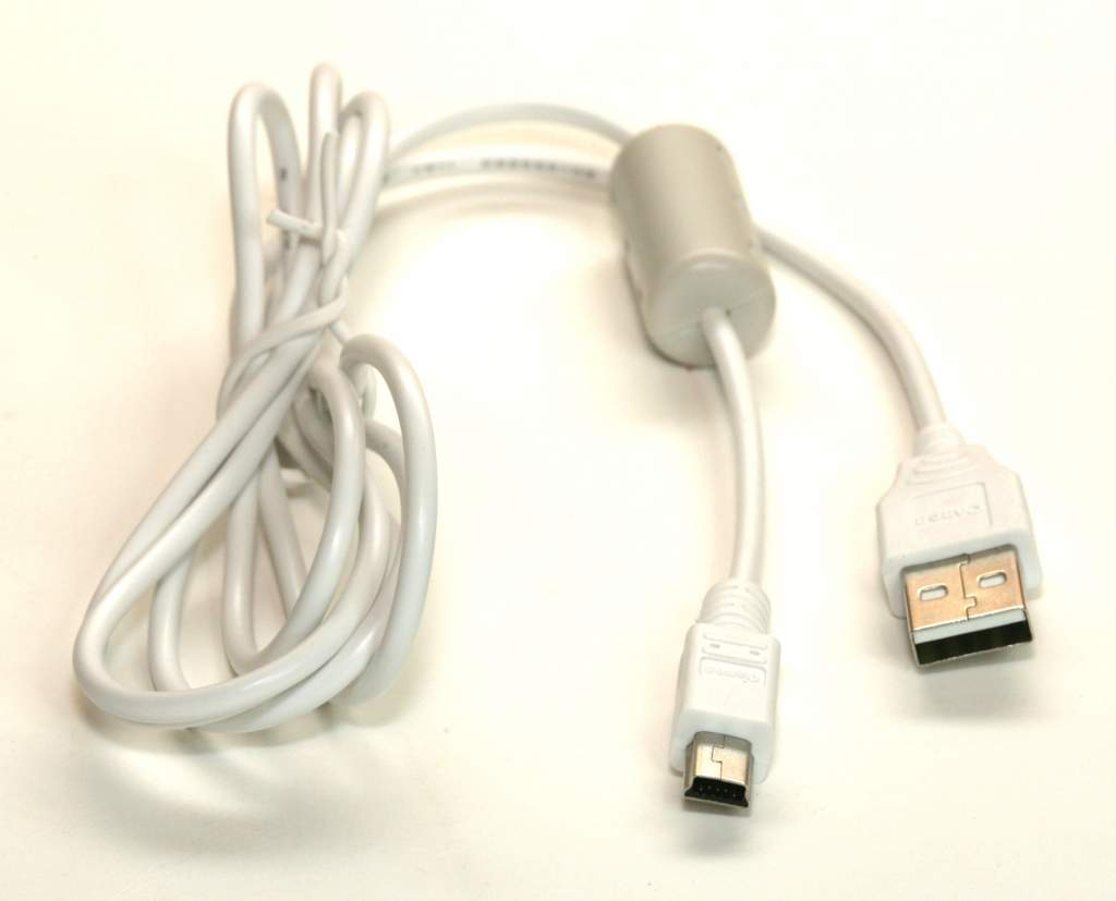 Olympus CBUSB4 Camera USB Cable for C and D Series Cameras White