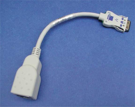 PCMCIA LAN CABLE E-3C-X TYPE 3COM USR MHZ