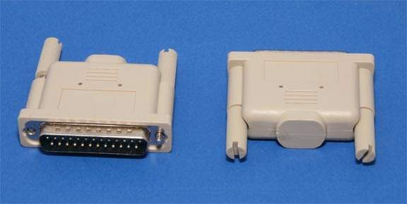 Parallel Loopback Plug DB25-F Tester