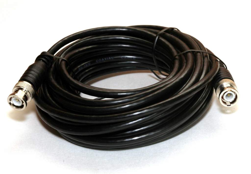 RG58 COAX BNC 25FT Cable