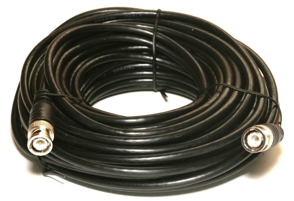 RG58 COAX BNC 50FT Cable ThinNet 10BASE2