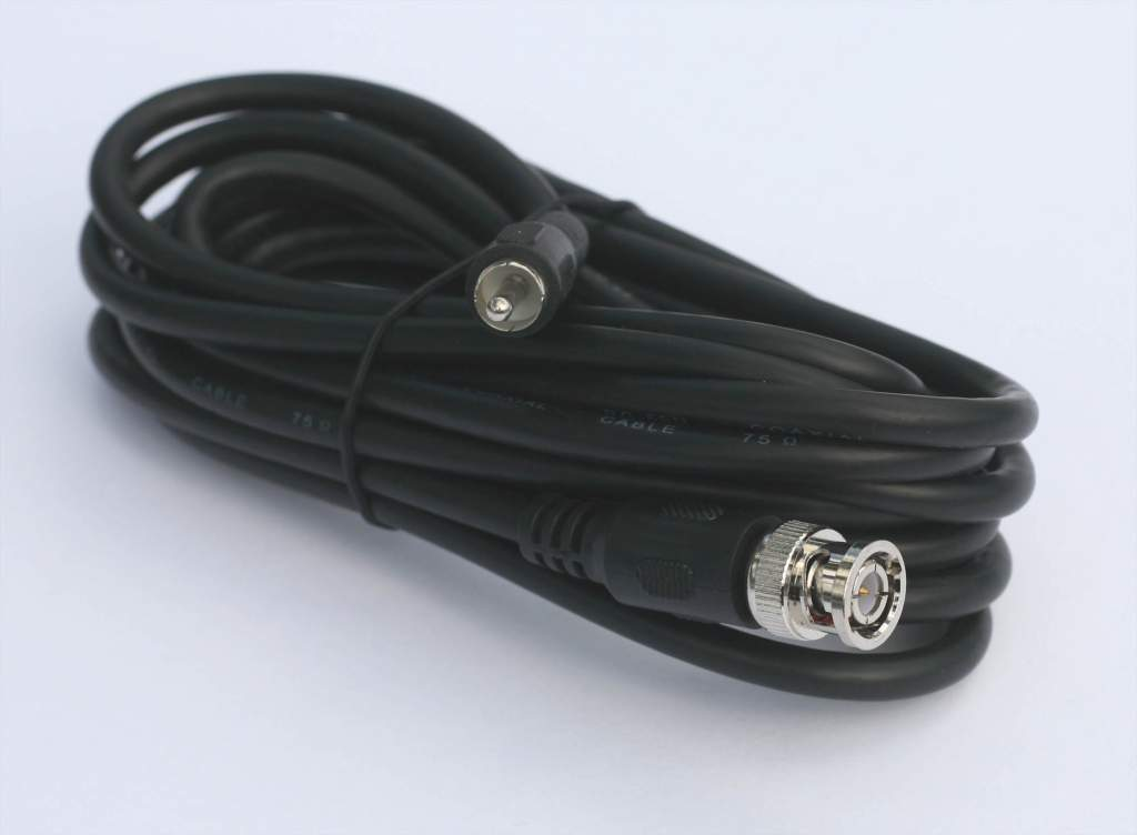 RG59 VIDEO AUDIO BNC-M RCA-M 12ft