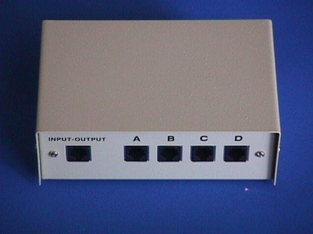 RJ11 RJ12 ABCD Switch Manual
