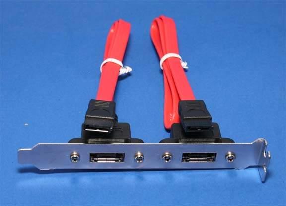 SATA-ES2P Serial ATA internal to external Bracket