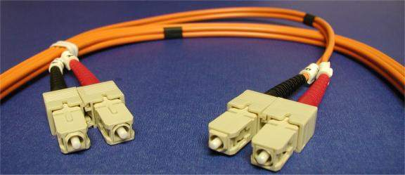 SC-SC FIBER OPTIC 5Meter 62.5 125UM Duplex Multimode