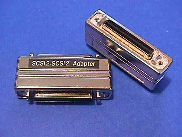 SCSI-II Adapter F-F HPDB50 Latch