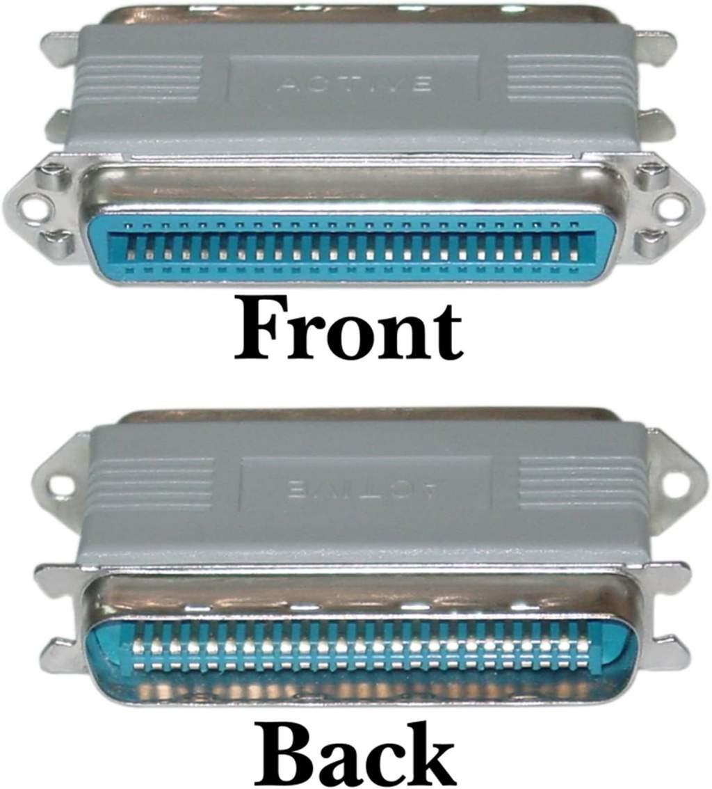 SCSI Terminator External CN50-F CN50-M ACTIVE PASS-THRU