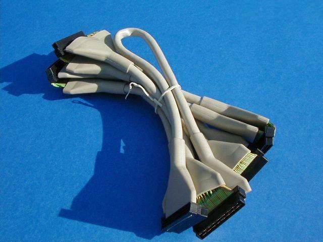 SCSI ULTRA UW2 UW3 80 160 320 LVD ROUND TWISTED 7-DEVICE 78.5IN