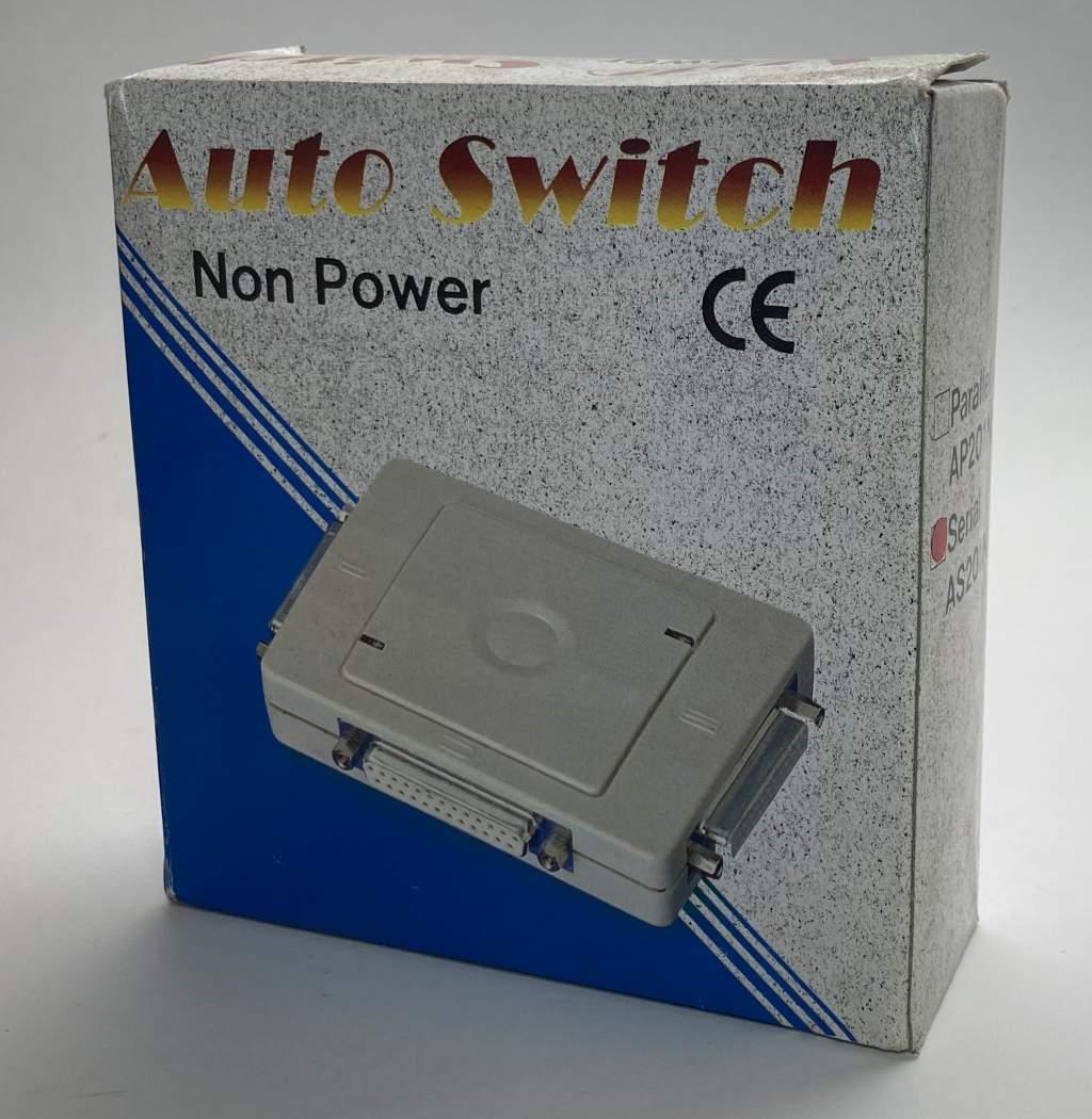 SERIAL 2 Port Auto Switch AUTO-25-2-S