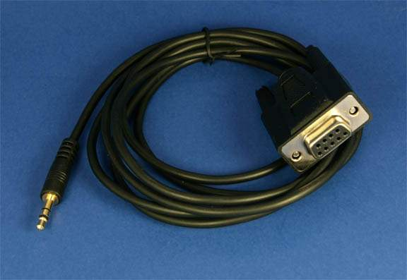 SERIAL CABLE DB9F to 3.5mm DCS4