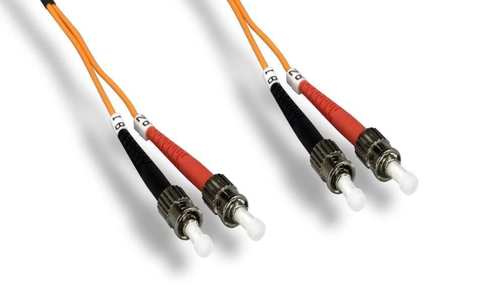 ST-ST FIBER OPTIC 15Meter 62.5 125UM Duplex Multimode